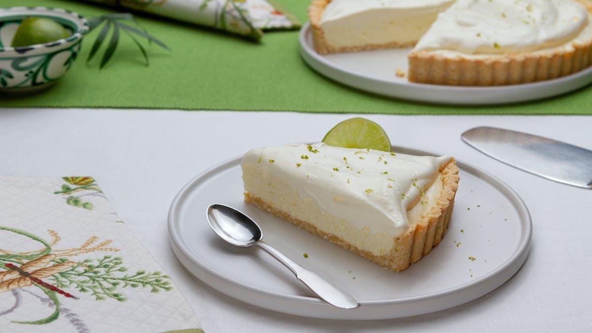 Pie de limón low carb