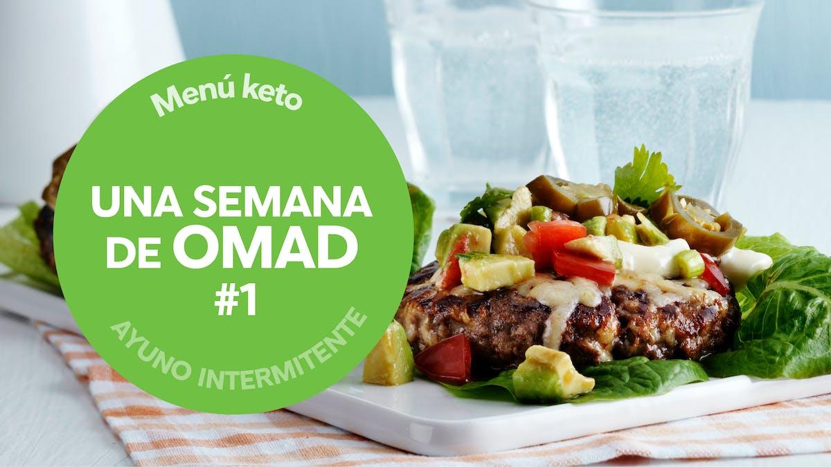 Menú para una semana: OMAD, una comida al día