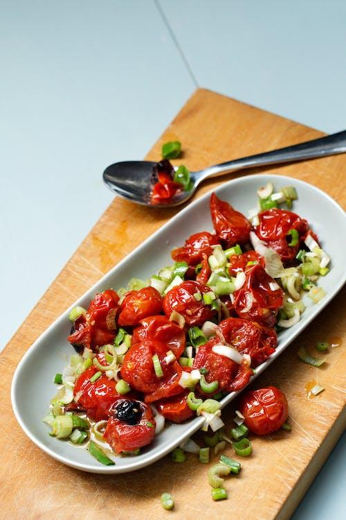 Ensalada de tomates asados