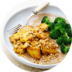 Comidas low carb con pollo