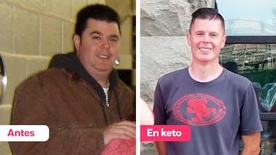 """""""Perdí 45 kg (100 lb) con la dieta baja en carbos desde 2009 a 2010"""""""