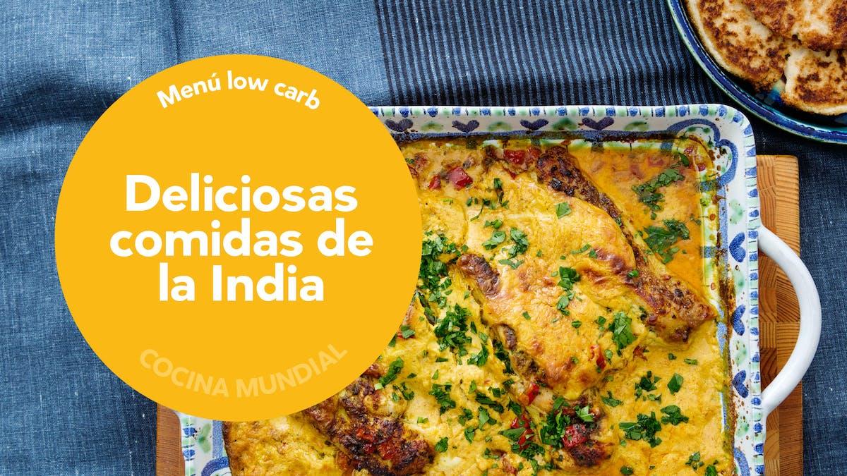Menú semanal low carb: deliciosas comidas de la India
