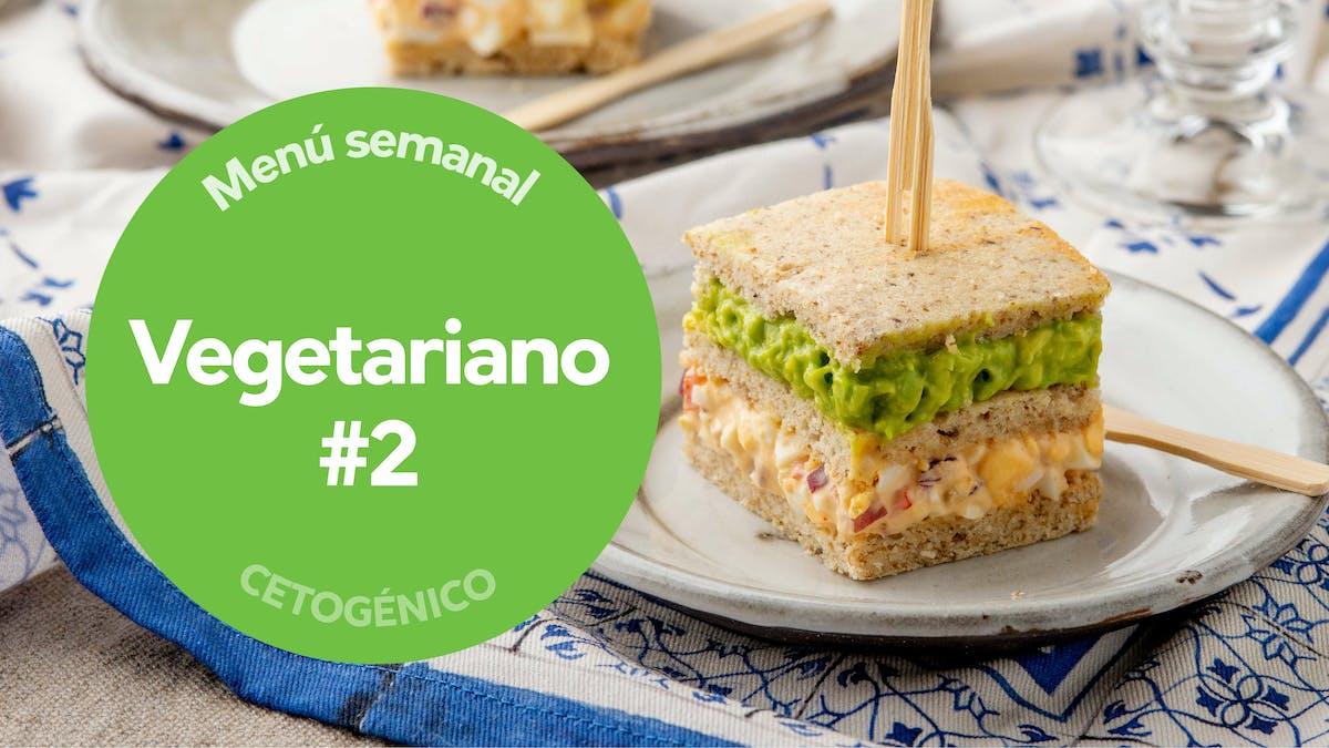 Menu semanal: keto vegetariano #2