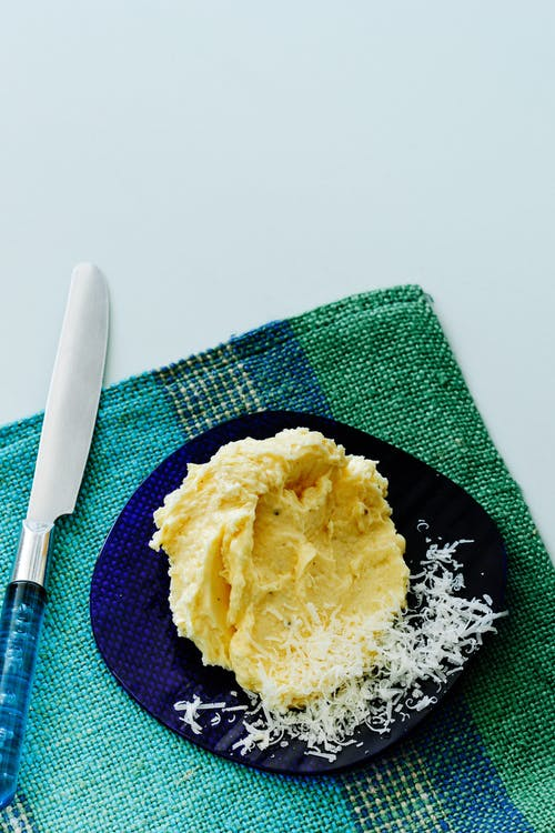 Mantequilla de queso parmesano