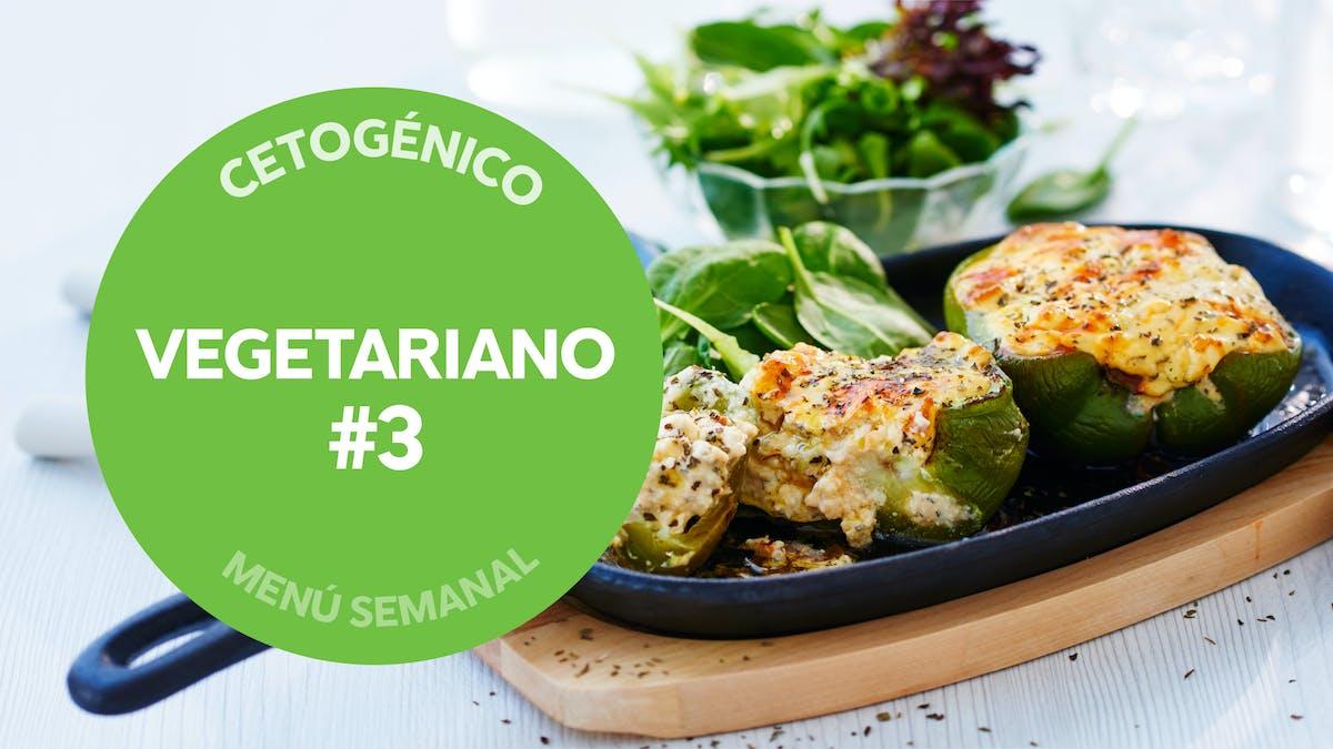 Menú semanal keto: vegetariano #3