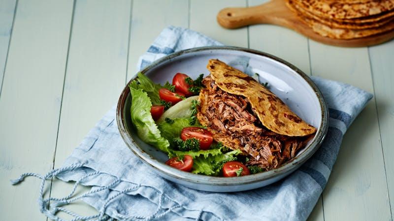 Carne de res al estilo marroquí en olla de cocción lenta