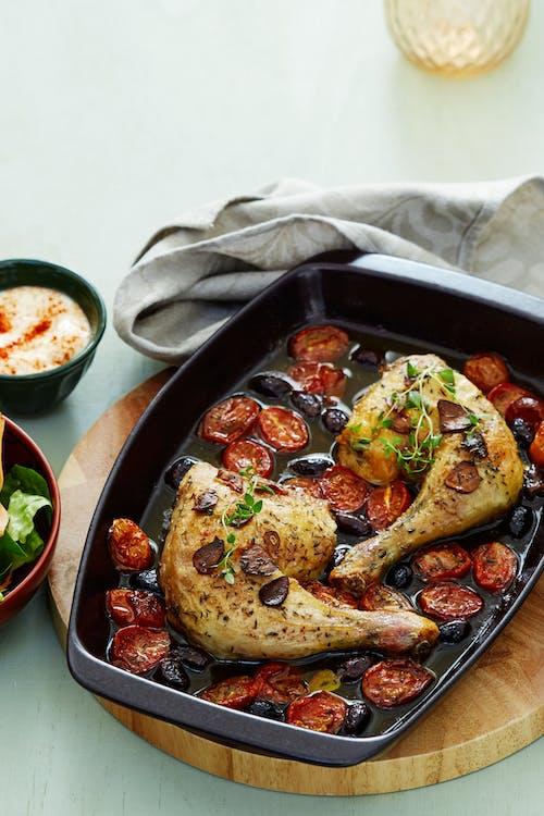 Pollo keto a la provenzal