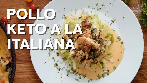 Pollo keto a la italiana