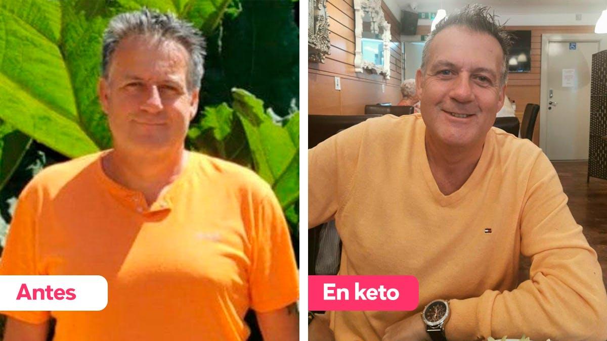 """""""¡Solo quiero decir que la dieta keto es fantástica!"""""""