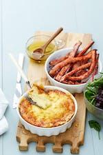 Suflé de queso keto