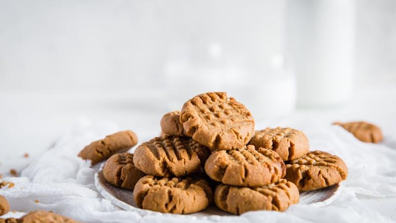 Galletas de mantequilla de cacahuete low-carb