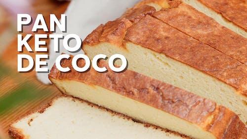 Pan keto de harina de coco
