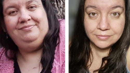 """""""Para mí lo importante era sanar. Nunca pensé que iba a bajar 30 kilos"""""""