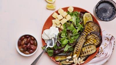 Plato de verduras parrilladas