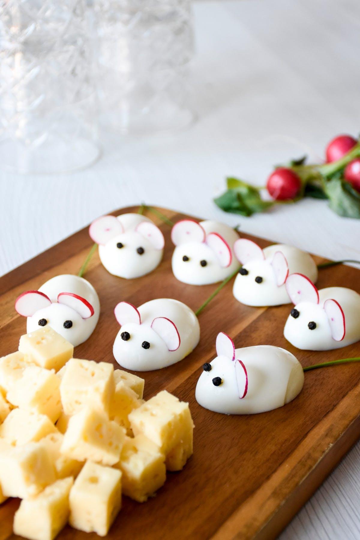 Ratoncitos de huevo keto
