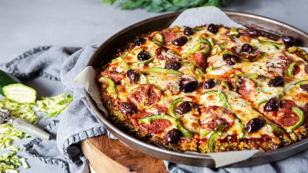 Recetas de pizza keto y low carb
