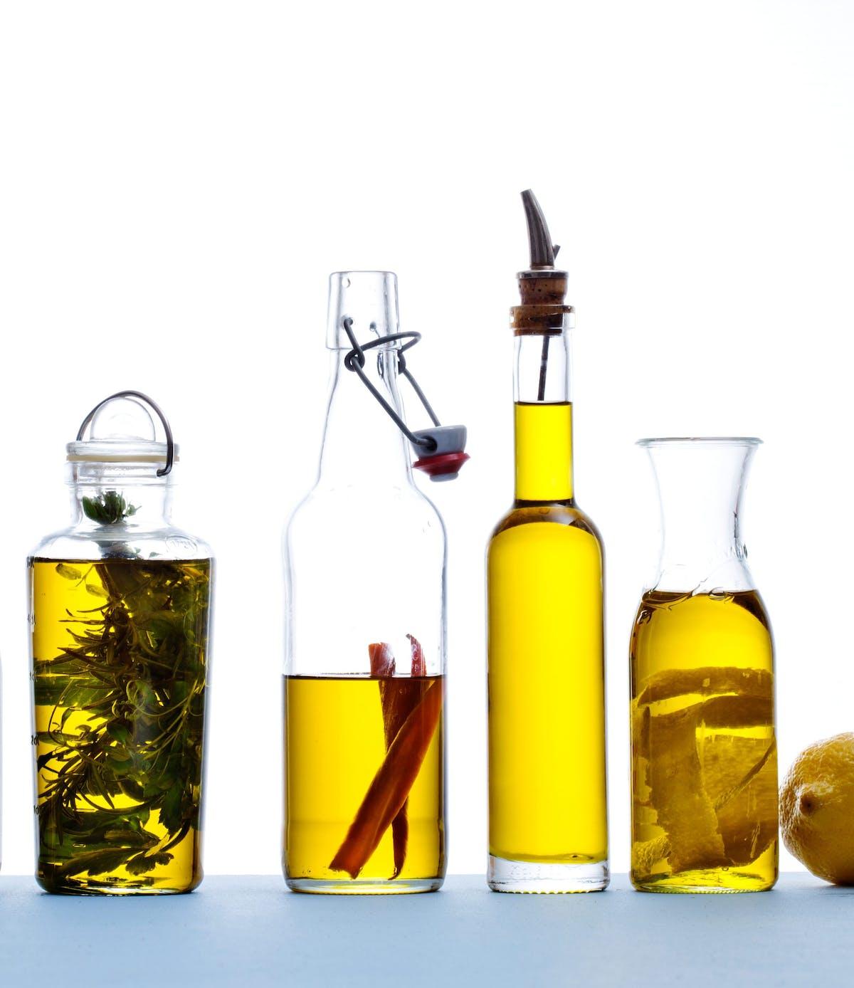 Aceite de oliva saborizado
