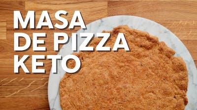 Masa de pizza keto