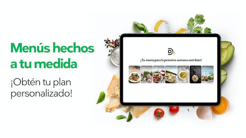Menús semanales personalizados para adelgazar