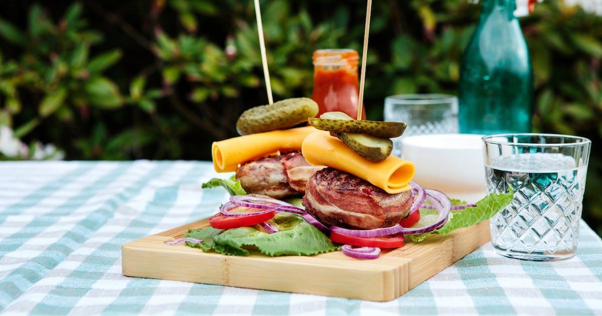 Las mejores recetas de hamburguesas low-carb y keto