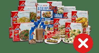 limita productos especiales bajos en carbohidratos