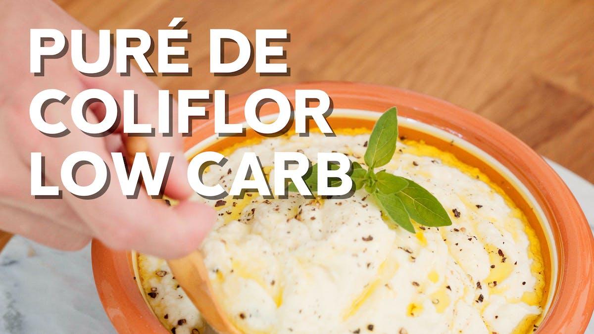 Puré de coliflor, ahora con vídeo