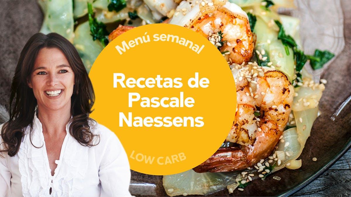 Low-Carb: recetas de Pascale Naessens