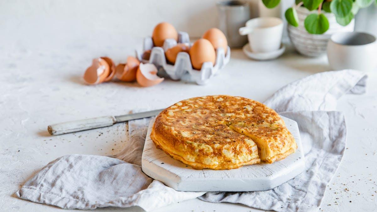 Tortilla española low-carb