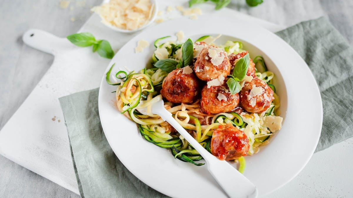 Recetas de pasta baja en carbohidratos y keto