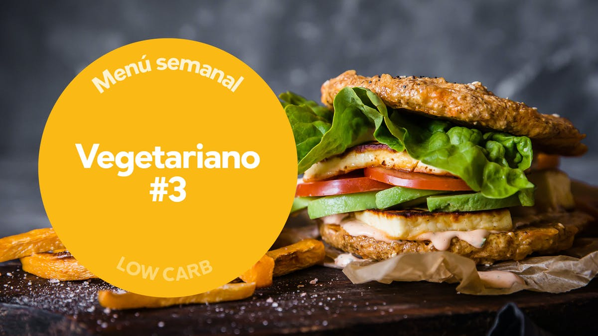 Menú low carb: Vegetariano