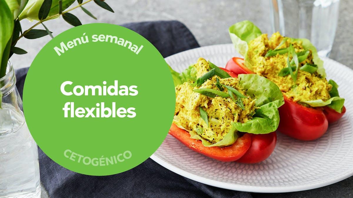 Menú keto: comidas flexibles