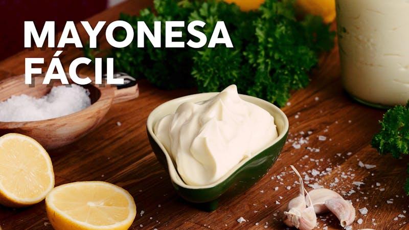 Mayonesa fácil