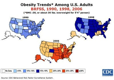 Fetmaepidemin i USA