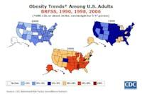 Fetmaepidemin i USA sedan 1990