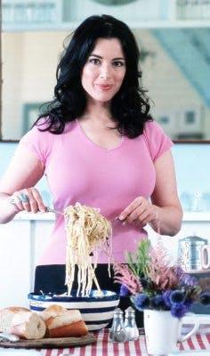 Ägg-banta med Nigella