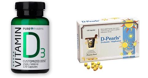 vitamin d2 d3 skillnad