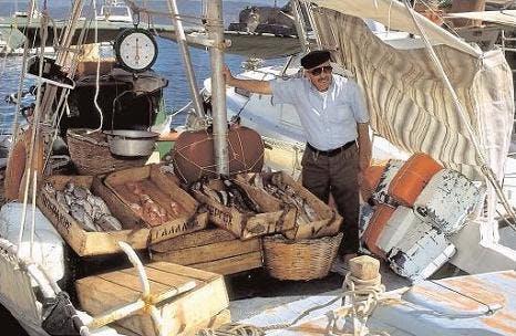 Medelhavskost innehåller gott om fisk
