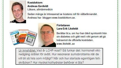 Kostdoc, Litsfeldt i Uppsala på onsdag