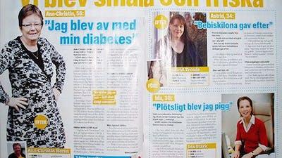 6 sidor LCHF i Aftonbladets hälsobilaga