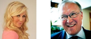 Isabella Löwengrip och Göran Persson