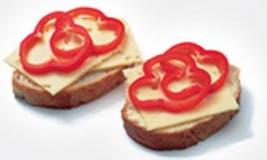 Ostsmörgås á la Becel