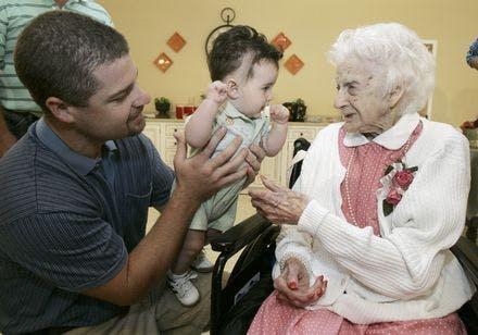 Edna Parker 114 år