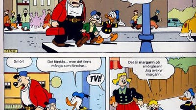 Kalle Anka om margarin