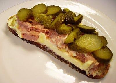 Leverpastej-smörgås
