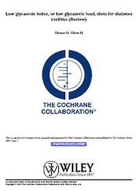 Cochrane om lågt GI/GL för diabetiker