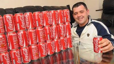 55 kilo lättare utan Coca Cola
