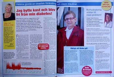 Helena Hesselmark och Jörgen Vesti Nielsen i Hemmets Veckotidning