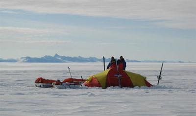 Mot sydpolen