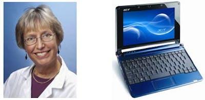 Annika Dahlqvist behöver en laptop