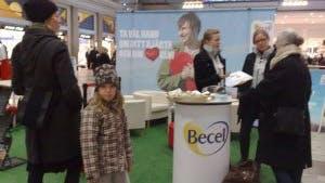 Becel på Stockholms Central